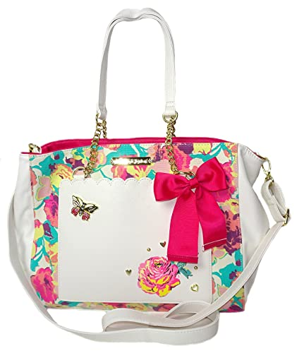 d36a9e1bd9e5 Betsey Johnson Bag in Bag Tote Handbag Womens Style  BETS-BM19460-FLORAL  Size