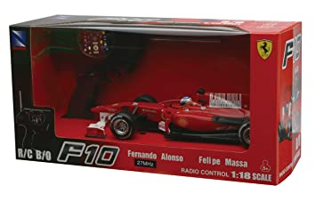 New Ray 89695 De Fórmula Ferrari Coche F10 FAlonso N°8 1 TlJFK1c