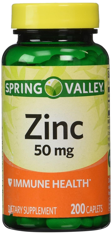 Spring Valley - Zinc 50 mg, 200 Ct