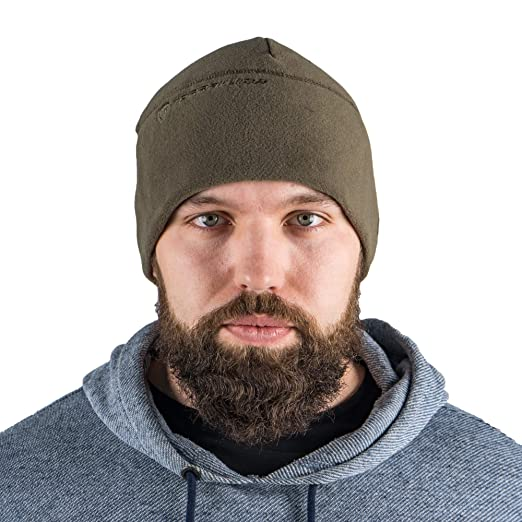 67f712de Image Unavailable. Image not available for. Color: Terrakuda Fleece Watch  Cap Beanie – Military/Tactical ...