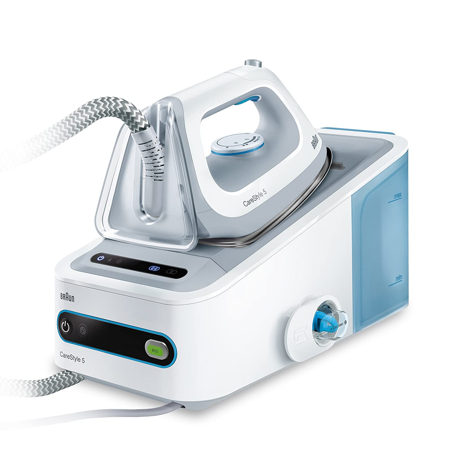 Braun IS5022 CareStyle 5 Eloxal 3D 2400W Steam Ironing System in ...