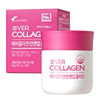 Ever Collagen in&UP Plus Skin Collagen Protein Tablets with Vitamin Supplements - 56 Ct - Low Molecular Collagen Peptides, Vitamin C, Vitamin D, Biotin, Selenium