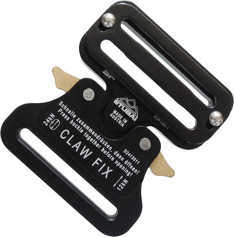 Stubai CLAW FIX FLEX XL Gurtschnalle eloxiert Gurtbreite 45 mm
