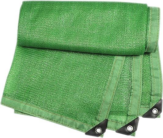 JQQJ Malla de Sombra para Jardín 90% Sunblock Shade Net Verde Resistente A Los Rayos
