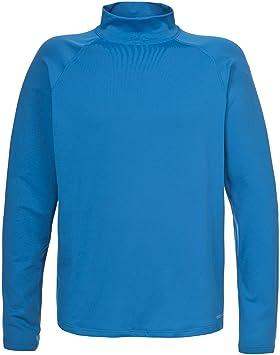 Trespass Shirt à manches longues - Homme White xxl, Homme, Blau - Ultramarine, xs