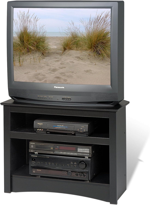 Prepac Negro Soporte para televisor de Esquina: Amazon.es: Electrónica