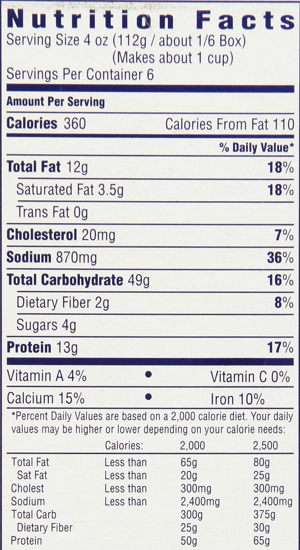 recipe: velveeta mac and cheese box nutrition [35]