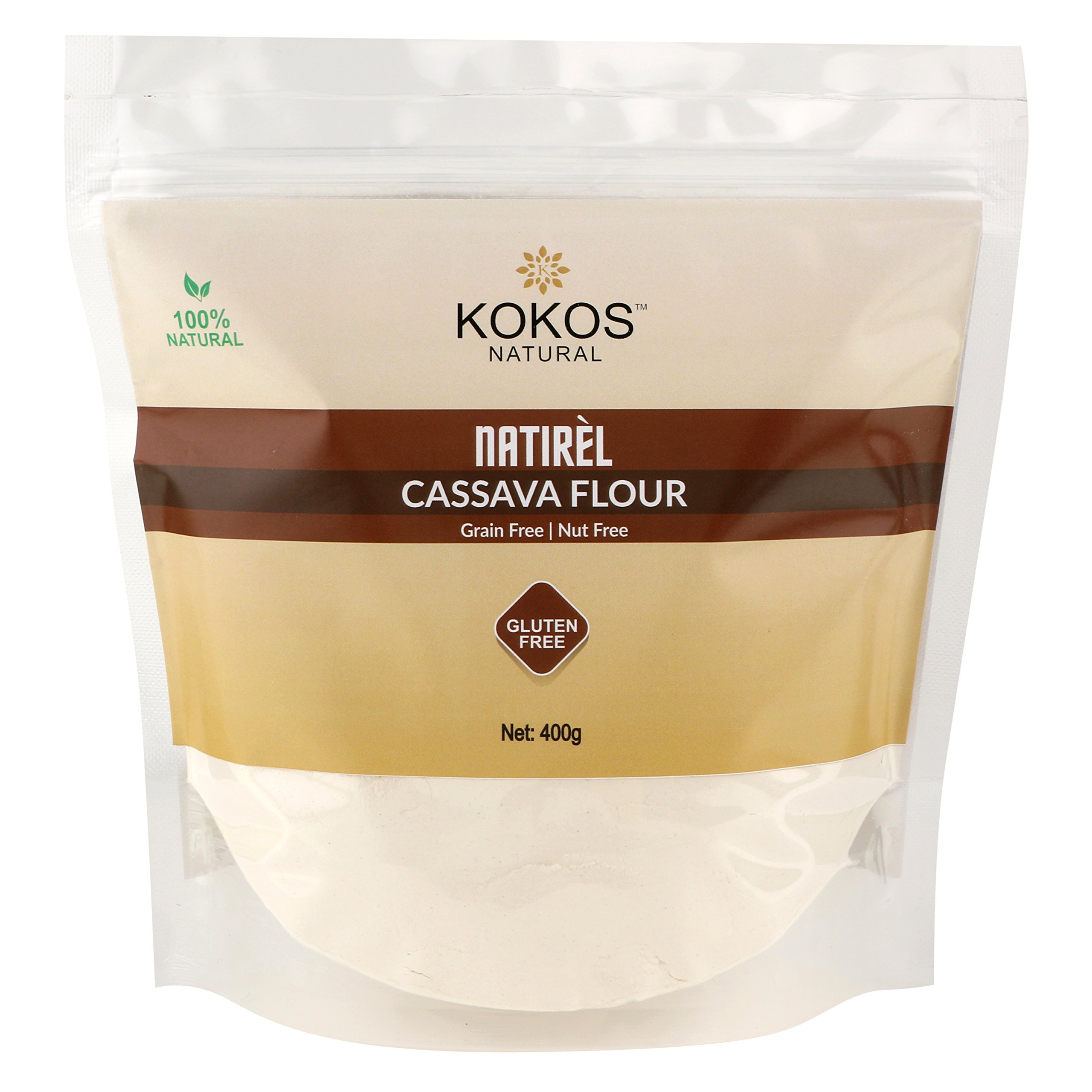 Kokos Natural Cassava Flour (Gluten-Free) 400G