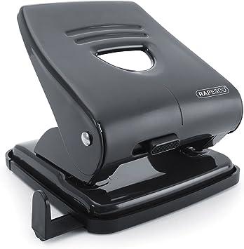 Rapesco ECO X5-40ps Less Effort 2 Hole Punch 40 Sheets Black