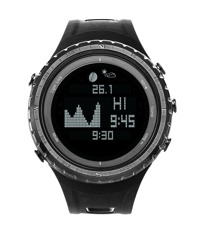 SUNROAD Armbanduhr FR830 Digital Angeln Uhr 5 ATM Sport Uhren Multifunktion Stoppuhr mit HÖhenmesser Wettervorhersage