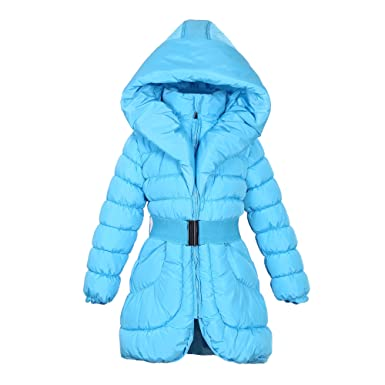 e957f5dbc Amazon.com  Richie House Little Big Girls  Padding Jacket Buckle ...