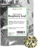 Red Raspberry Leaf from the Mediterranean - Herbal Tea (200+ Cups) - Cut & Sifted Leaves - 16oz Resealable Bag (1lb) - 100% Raw