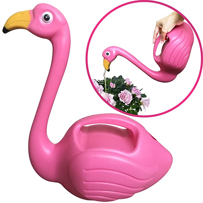 Flamingo Shaped Watering Can Decorative