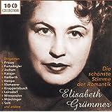 Elisabeth Grümmer : Une voix romantique (Coffret 10 CD)