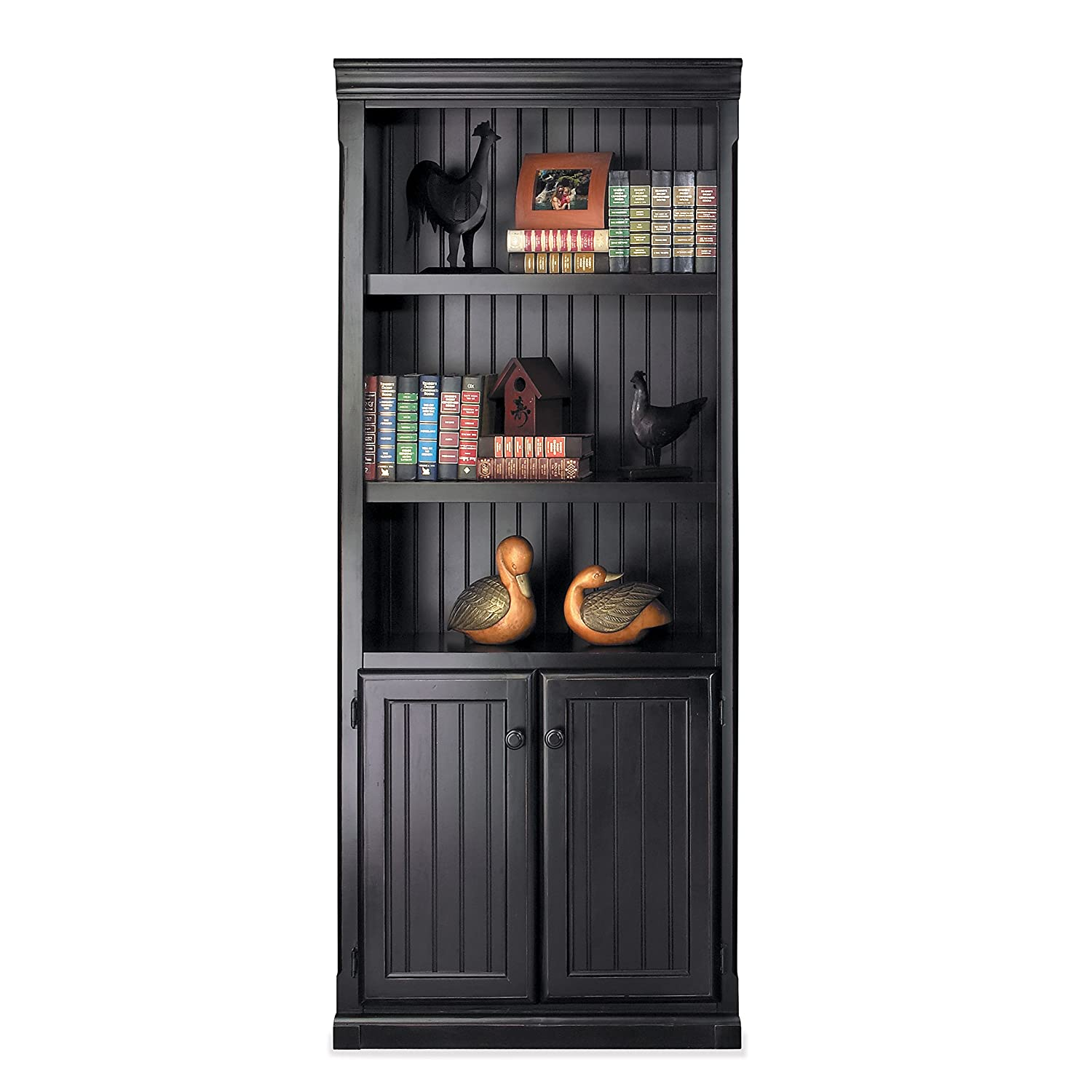 Martin Furniture SO3072D Martin Southampton Library Bookcase – Fully Assembled