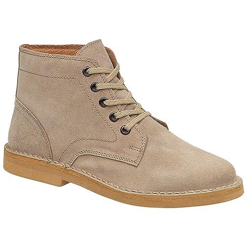 07f2105c Amblers - Botas tipo desert modelo Taupe para hombre: Amazon.es: Zapatos y  complementos