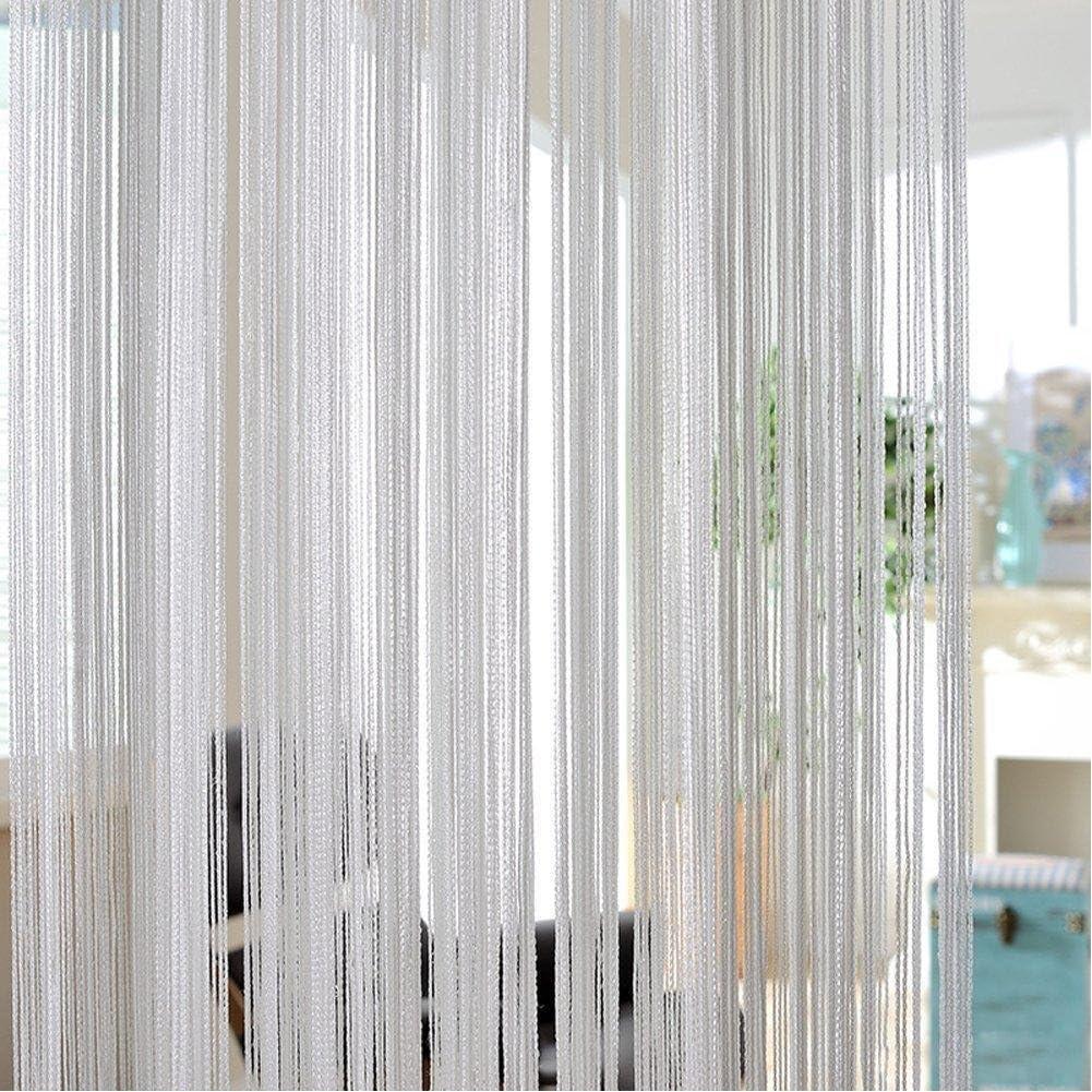 Cortinas de poliéster duraderas y brillantes para patio, dormitorio, hoteles, baño, 3 colores a elegir, plata, 200cm*100 cm