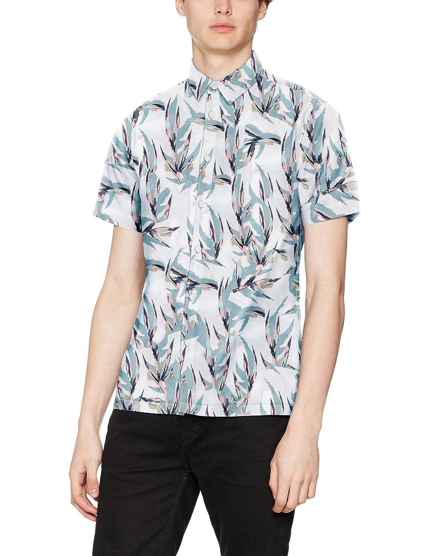 TALLA M. JACK & JONES Jordaneel Shirt SS Camisa para Hombre
