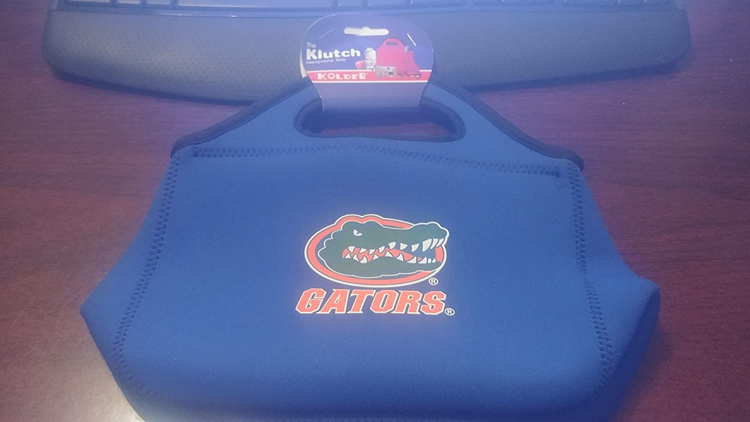 Gators Kolder The Klutch Neoprene Tote or Handbag University of Florida Officially Licensed Collegiate Products