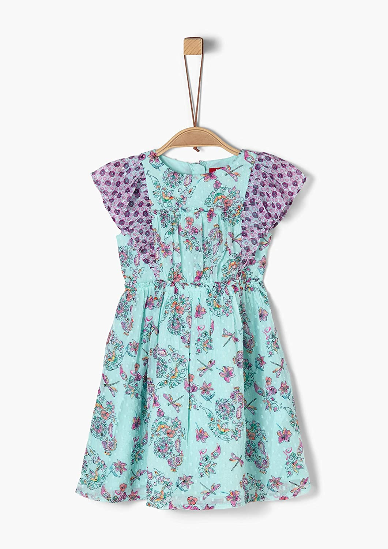 s.Oliver Junior M/ädchen Kinderkleid