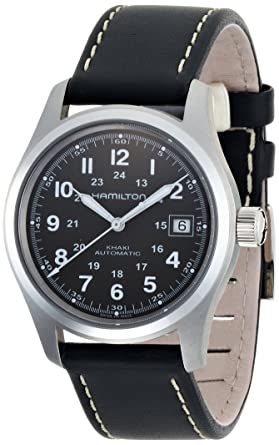6c1eb2f40f0 Image Unavailable. Image not available for. Color: Hamilton Men's H70455863 Khaki  Field Automatic Watch