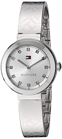c04ae5ef Image Unavailable. Image not available for. Color: Tommy Hilfiger Women's  Quartz Stainless Steel Casual Watch ...