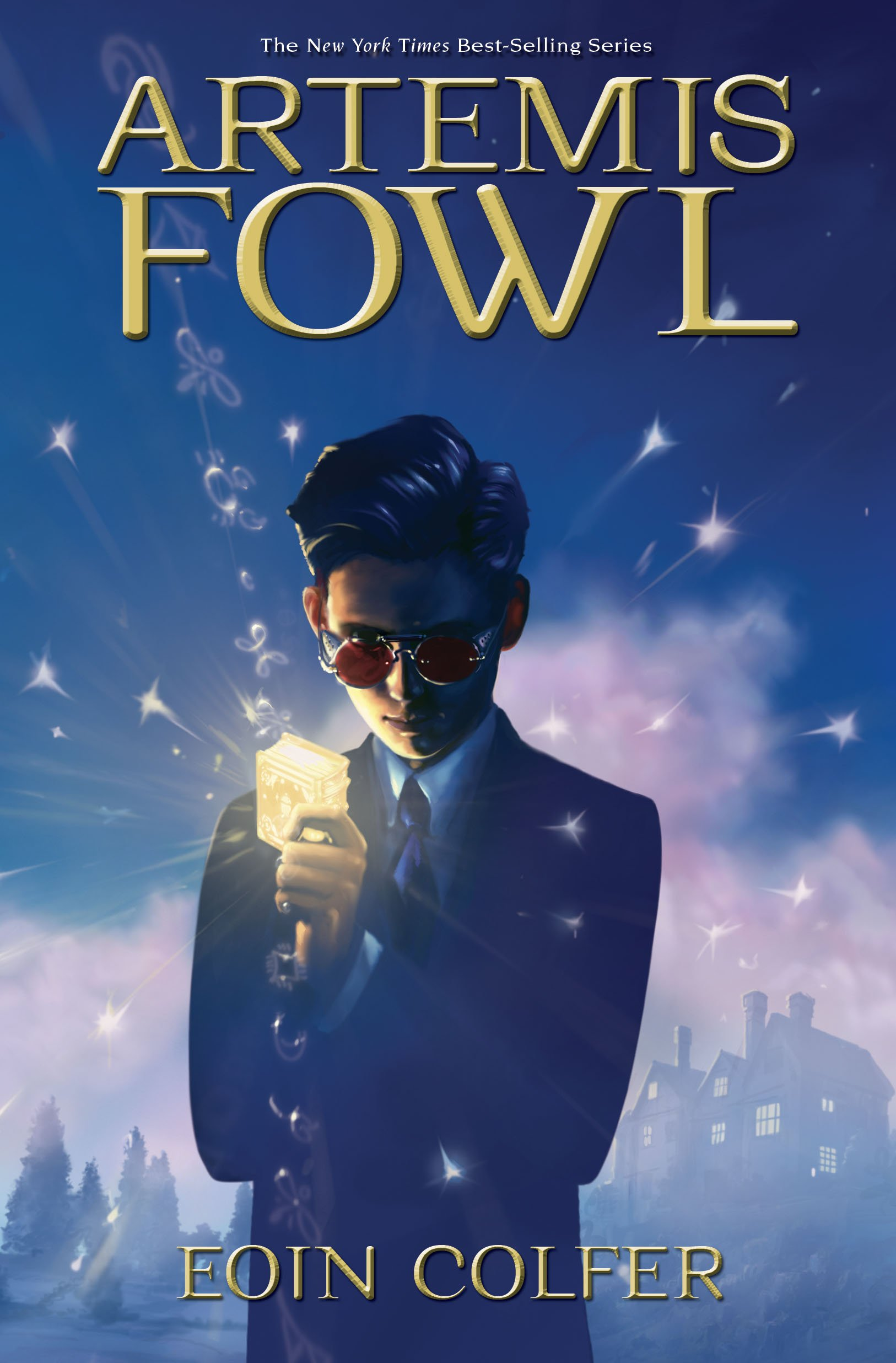 Image result for artemis fowl book cover