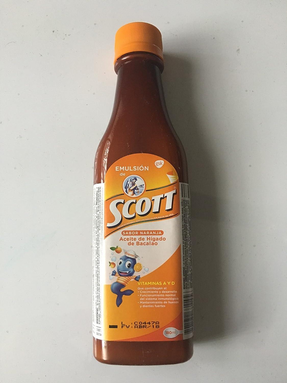 Emulsion de Scott Naranja (Orange) 180 Ml.