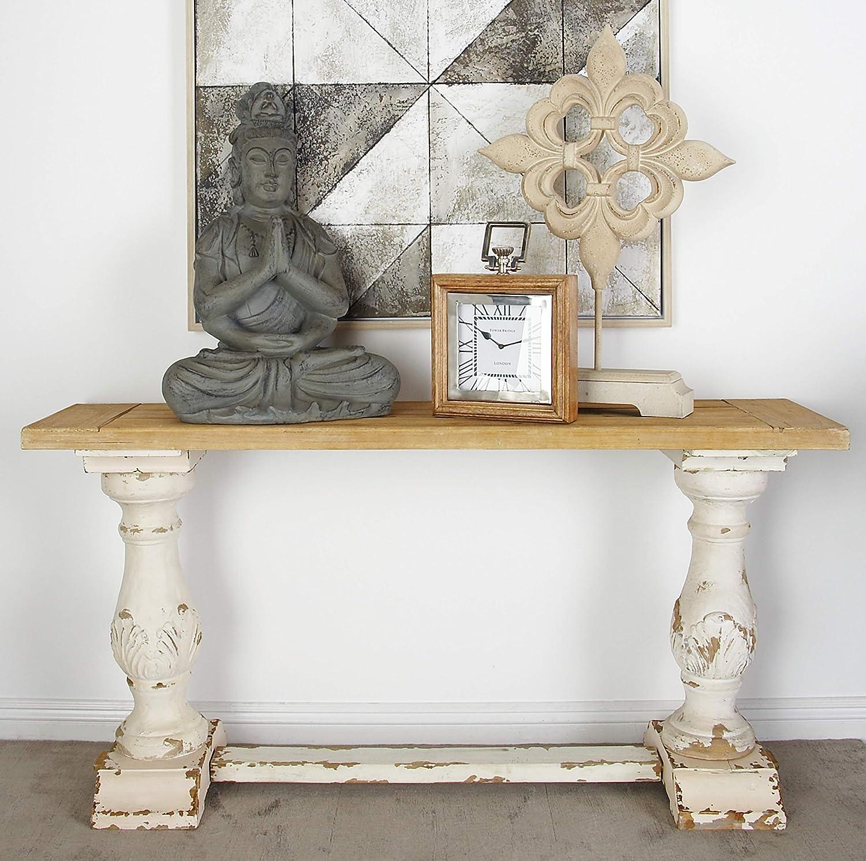 Amazon Com Deco 79 14840 Wood Console Table 59 X 29 Home Kitchen