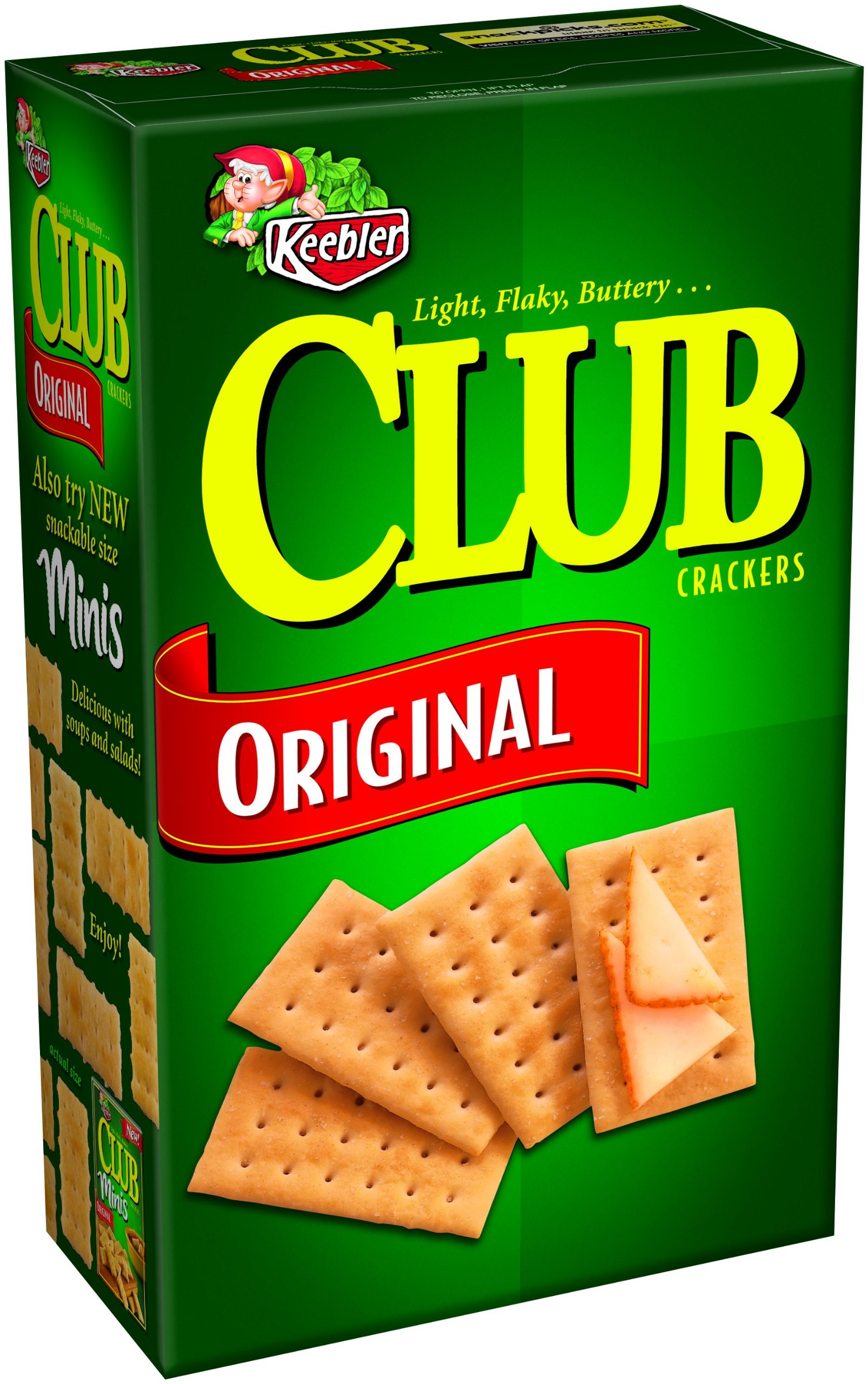 Club Crackers, Original, 16-Ounce Boxes (Pack of 4)