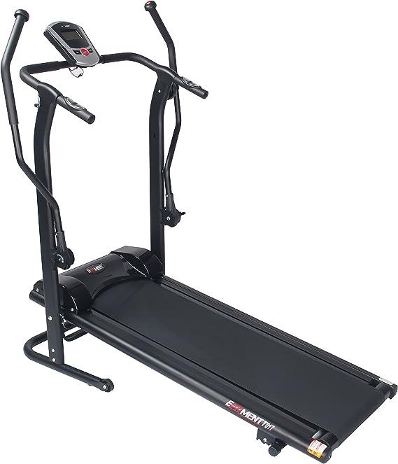 EFITMENT Adjustable Incline Manual Treadmill