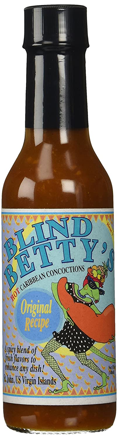 Hot Sauce Blind Betty Caribbean Concoctions Original Recipe ...