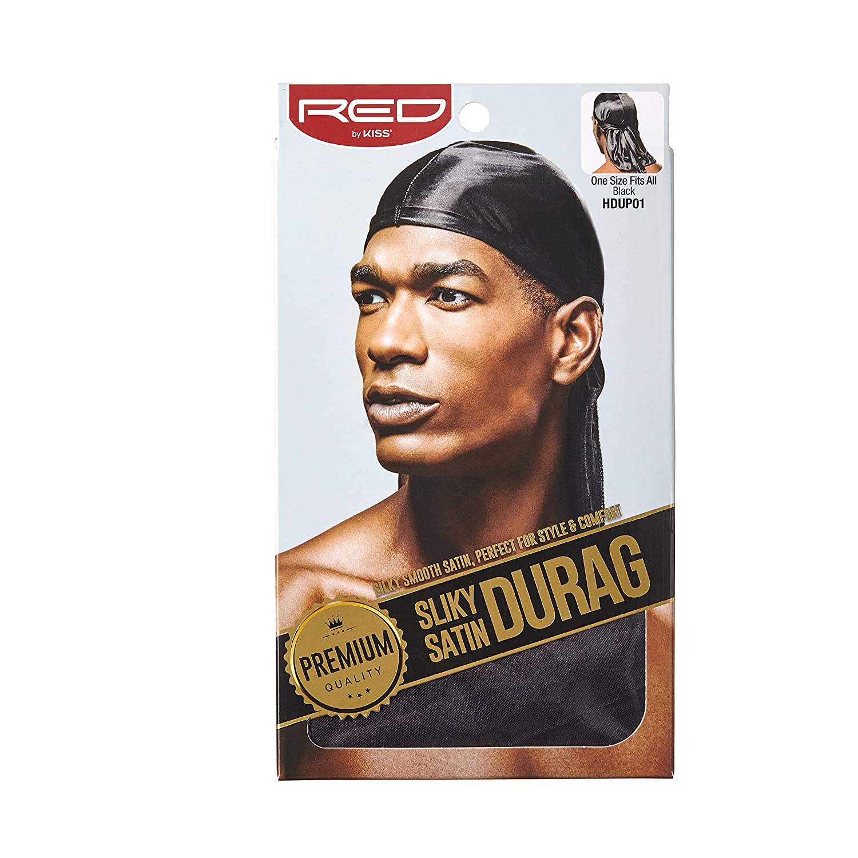 Wellen Wei/ß Hairizone Silky Durag Headwrap Doo Rags f/ür Herren