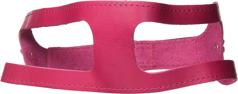 20-Inch Non Metallic Raspberry Rose ChokeFree Pet Shoulder Collar