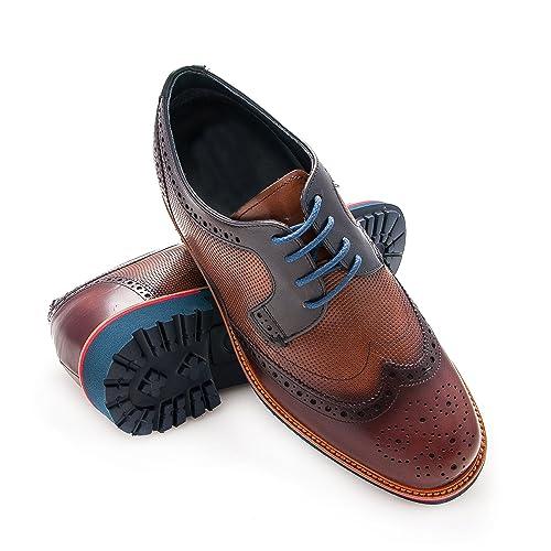 Hombre Hombre Con Que Zapatos Zerimar De Alzas Ux467wWqfW