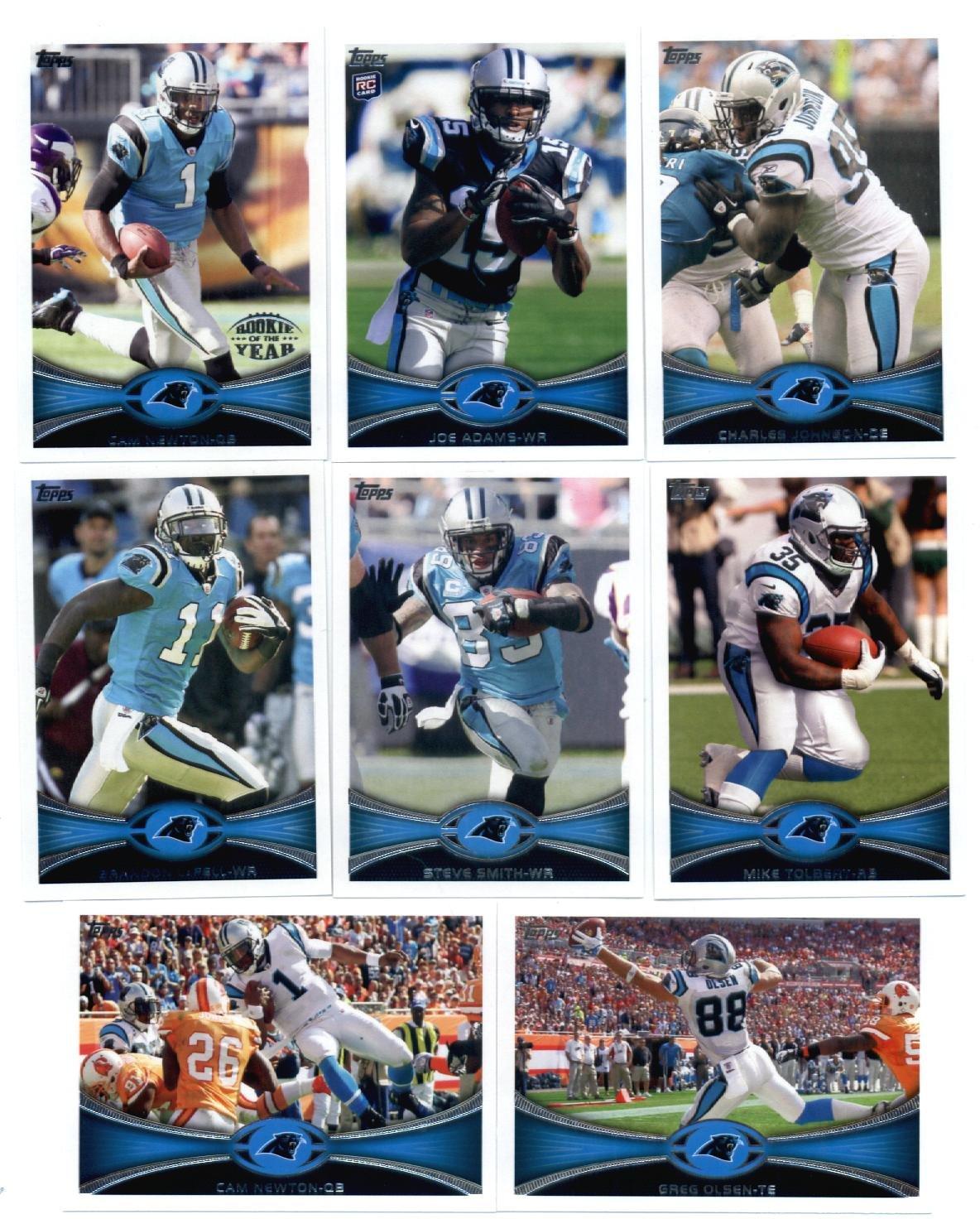 2012 Topps Carolina Panthers NFLチームセット(。 Sealed ) – – 13カードなど B00B7A3DHE、カムニュートン、DeAngeloウィリアムズ、Tolbert、スティーブスミス、Stewart、Kuechly RC、ジョーアダムスRC and more。 B00B7A3DHE, 家具のHirayama:ea6fd8a2 --- harrow-unison.org.uk