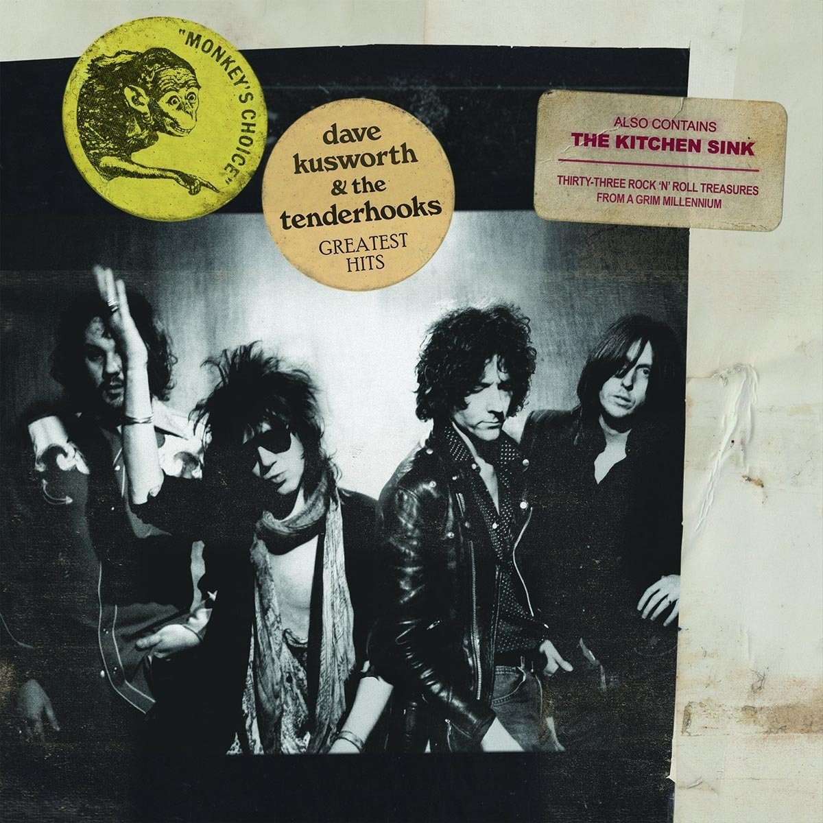 DAVE & THE TENDERHOOKS KUSWORTH - Monkeys Choice (2PC)