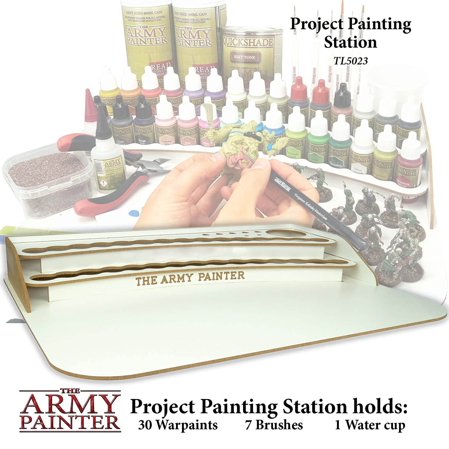 Amazon.com: The Army Painter Project Paint Station: Toys & Games