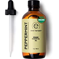 Top Rated Pure Peppermint Oil 4 Ounce by Eve Hansen. Therapeutic Essential Oil For Nausea Relief Mice Repellent Hair…