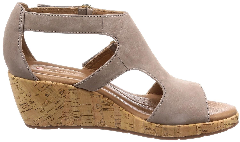 01cc3d2bc9f9 Clarks Women s Un Plaza Ankle Strap Sandals  Amazon.co.uk  Shoes   Bags