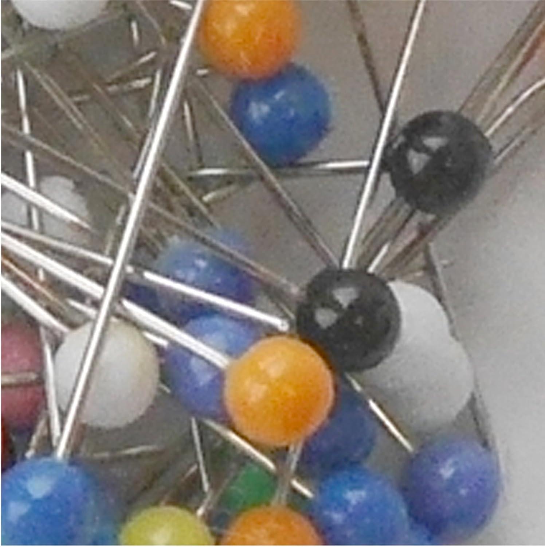WEDO Reißnägel kunststoffüberzogen bunt Durchmesser 10 mm 100 Stück