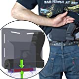 """Magnetic Retention Comfortable Concealed Carry BellyBand Style Gun Holster """"Got-Your-Back Holster"""" Fits Glock 19 23 38 25 32 26 27 29 30 39 28 33 42 43 36 Smith and Wesson M&P MP Shield"""