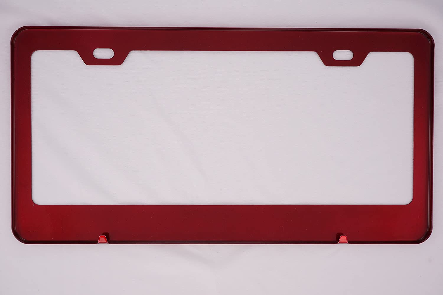 Powder Coasted Color Fit Ferrari Red Stainless Steel License Plate Frame