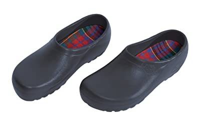mens from Polyurethane Synthetic-Clogs