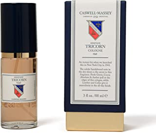 product image for Caswell-Massey Heritage Tricorn Cologne - An Updated Modern Fragrance For Men With Citrus Musky Sandalwood And Cedar Scent (88 ml)