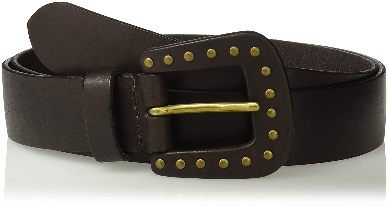 House of Boho Studded Buckle 100/% Leather Belt