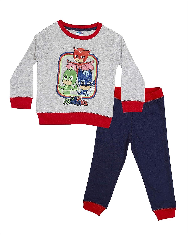 Gekko /& Owlette PJ Masks Baby Boys Crew Sweater /& Jogger Set Featuring Catboy