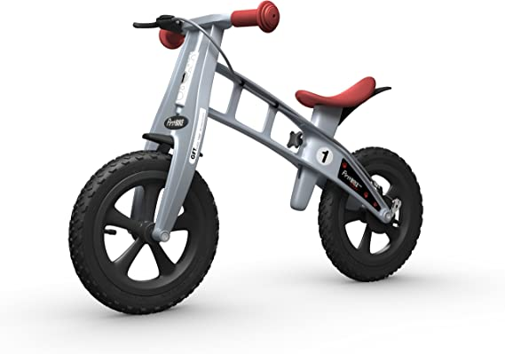 FirstBIKE - Bicicleta de Equilibrio con Freno, Modelo Cross, Color ...