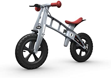 Firstbike Cross Bike With Brake Silver Toys Games