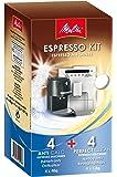Melitta Espresso Kit Nettoyant et Détartrant